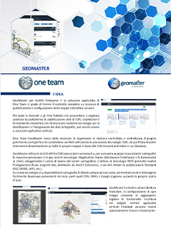 Brochure Geomaster One Team